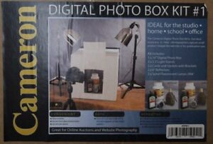 Digital photo box - studio lights