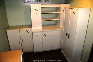 White Pantry Cupboards. cabinets and shelves