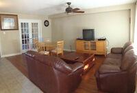 luxury master bedroom full furnished short term rental