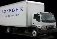 Grand camion & équipement complet pour vos livraisons