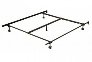 """Adustable bedframe with """"center support"""" """"  LIKE NEW """""""