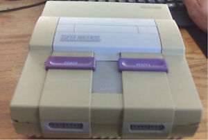 Super Nintendo (console only)