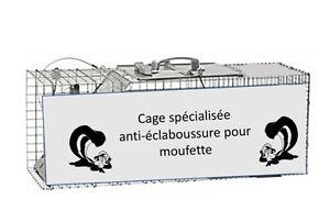 Cage attrappe Raton, moufette, marmotte,et autres (514-820-7183)