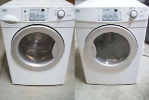 Washer and Dryer Front Load ~ High Efficiency DURHAM APPLIANCE