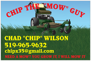 CHIP THE MOW GUY