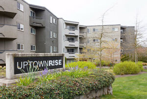 Top Floor Unit in Uptown Rise {2 Bedroom}