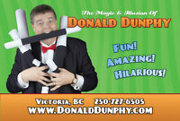 Victoria Birthday Party Magic Show by Donald Dunphy the Magician