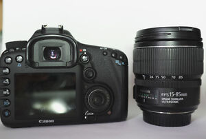 Canon  EOS 7D Digital SLR Camera with EF-S 15-85mm IS USM