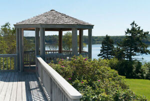 Campobello Island-,NB,Waterfront Rental Cottage-3bed/2baths deck