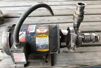 Thomsen Used Sanitary Centrif. Pump Model 42049-ea Serial A2046 Item 8742