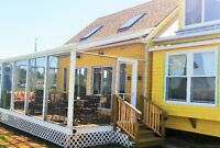Waterfront Beach House & Bunkhouse For Rent-Tatamagouche/Brule!