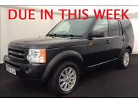 2007 (57) LAND ROVER DISCOVERY 3 2.7 TDV6 SE AUTOMATIC 4X4 7 SEATER