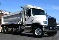Dump Truck driver required.