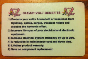 1-Clean~Volt Unit Protects- A Home/Cottage/Farm From Lightning! Kingston Kingston Area image 7