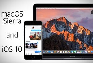 MAC iPHONE iPAD MACBOOK macOS Sierra iOS 10 Computer Repair