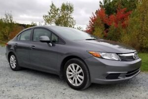 2012 Honda Civic EX 4-dr with warranty & winter tires/rims