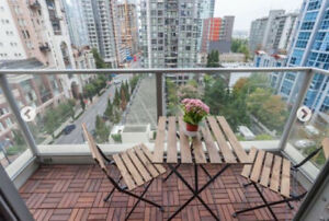 LUXURY FURNISHED STUDIO YALE TOWN VANCOUVER