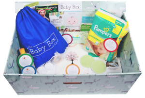 GET YOUR FREE BABY BOX, WIN PRIZES AND SHOP LOCAL!