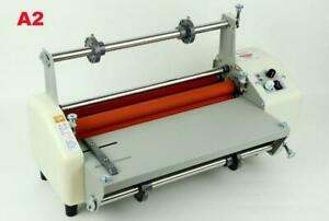17.3 440mmHot Cold Roller Laminator Kit +6 Kinds of Laminating Film