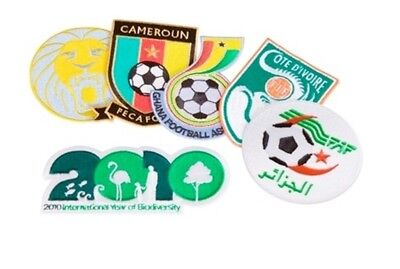 Puma Africa Unity Football Kit Patch Set World Cup 2010 Badge Logo Biodiversity