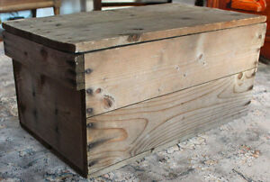 Rustic Box with Lid