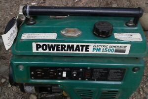 "Gas Generator PowerMate PM1500 ""FOR PARTS"" $35.00 ""OBO"""