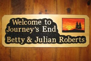 Cottage, Cabin, Trailer Signs - Great Christmas Gifts!