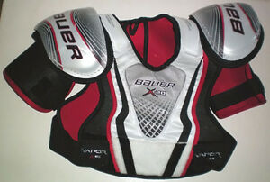 Selection of 6 Pair of Ice Hockey Shoulder Pads London Ontario image 5