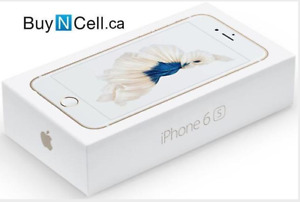 $599 NEW iPHONE 6S 32GB/64GB Bell/Telus +WARRANTY of 12 months