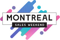 60$/HR!! MTL SALES WEEKEND IS LOOKING FOR MOTIVATED SALES REPS!