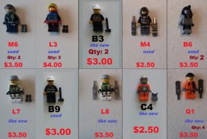LEGO Minifigures, NEW & USED