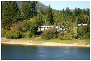 "49 YEAR LEASE ON ""LITTLE RIVER"" SHUSWAP LAKES"