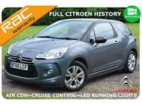 2011 Citroen DS3 1.6HDi 90 DStyle -Full Citroen Service History -£20 Road Tax-