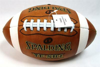 Spalding TF-SB1 NFHS Full Size Spiral Balance Top Grain Leather Football B-18