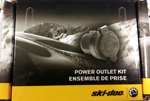 Brand New Ski-Doo Power Outlet Kit