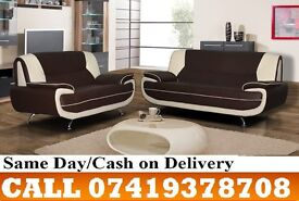 RAWQ 50 % OFF ON SALE-----FOR CAHROL WHITE AND BLACK 3 AND 2 SEATER SUITE