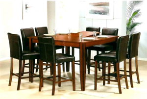 Pub style dinning table and chairs