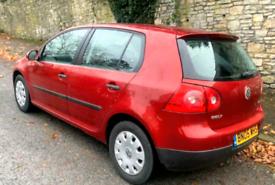 VW GOLF 1.4 Petrol 2005 LONG 8 M MOT SH £1100