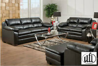Brand NEW Bonded Leather Sofa Set! Call 306-347-3311!