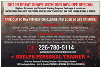 Get In Shape For Your Wedding - Personal Training - 50% Off