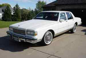 WANTED: White Chevy Caprice - one day rental