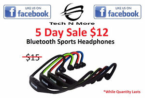Bluetooth Sports Headphones (4 Colors) 5 DAY SALE