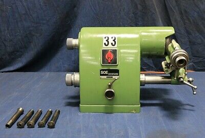 Deckel Soe New 1980 Single Phase 115 Volts Tool Cutter Grinder Built-in Du