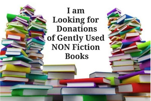 Wanted Gently Used Non Fiction books/textbooks