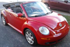 VENDU -new-beetle décapotable 2008  2.5 L automatique