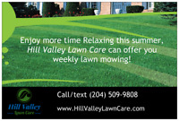 Now booking Spring clean up & weekly lawn mowing