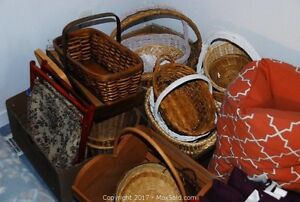 Baskets and Cushions and Pillows