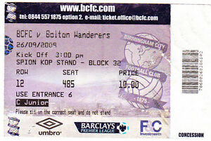 Football-Ticket-BIRMINGHAM-CITY-v-BOLTON-WANDERERS-Sept-2009