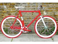Brand new NOLOGO Aluminium single speed fixed gear fixie bike/ road bike/ bicycles 11d