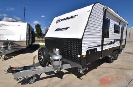 Crusader Weekend Warrior Caravan - Many features. Great value!